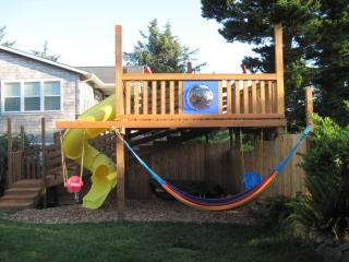 12 FT Play Structure w/Tube Slide