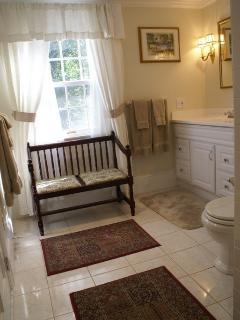 Master bedroom bath. Each bedroom has private bath.
