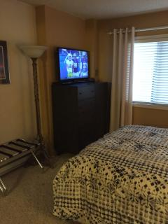 Dresser and TV in Master bedroom