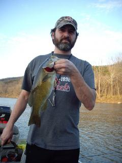 Little Mark K Smallmouth Bass