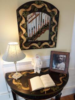 Foyer & Guest Book