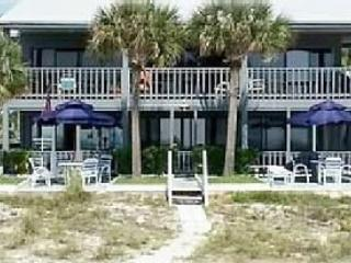 "Gulf Beach Front Condo! ""Shack on the Sand""  Ground Level on Beach"