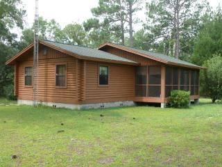 Beautiful Log Cabin, Dunnellon