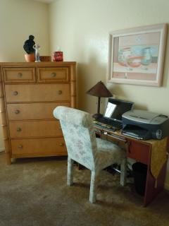 Desk in 3 rd Room with Trundle Beds