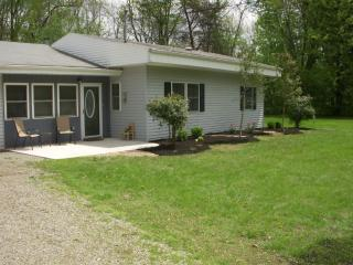 Rocky Fork Lake Cottage Rental, Hillsboro Ohio