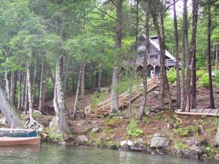 A Quiet Place on a Beautiful Lake - 200ft Frontage, Island Falls