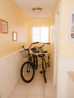 3 free beach bikes