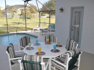 Pool and lanai area