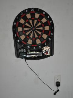 electronic dart board