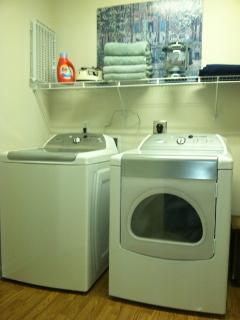 Laundry room w/hi efficiency W&D
