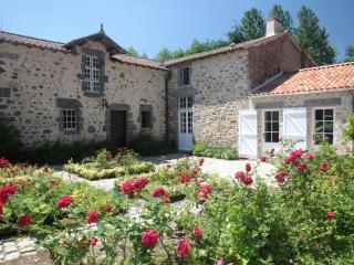 Gite haut de gamme pour 10 personnes au Vieux Chateau de Poiroux en Vendee.