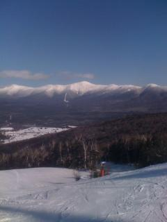 Presidential Range in winter