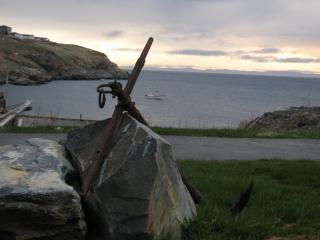 Our anchor, with view beyond.