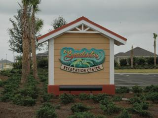Bradenton Rec. Center  - Less then a 1/4 mile away a easy walk or golf cart ride