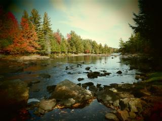 Adirondack Riverfront Cabin