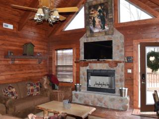 Amazing 3 bed,3 bath cabin hot tub,fireplace,wifi, Ridgedale