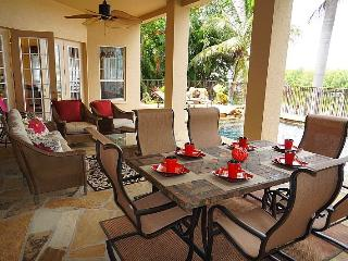 Waterfront Gulf Access Home with Pool, Spa, Dock, Cape Coral