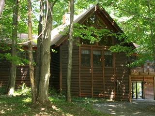 Crystal Mountain 6 Bedroom 3 Bath Log Cabin, Comins