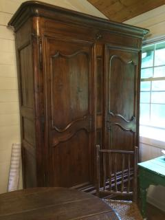 Antique Armoire works as pantry and bookcase!  I bought it in France!
