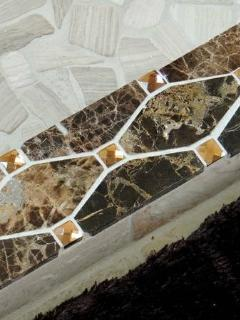 The 'best' of everything. Granite with swarovski crystal inlay.