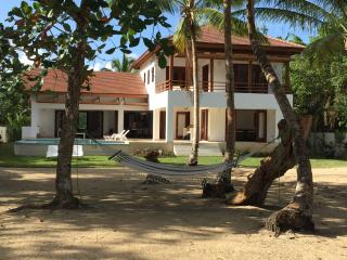 Home rental directly on the beach in Las Terrenas