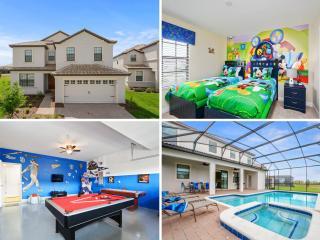 Beautiful Orlando villa w/Pool & Games -1439, Citrus Ridge
