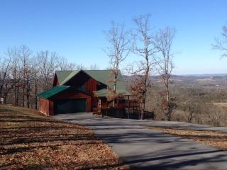 Located on 8 Acres overlooking Table Rock Lake, Lampe