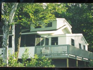 Waterfront Lake Winnipesaukee Cottage, Mirror Lake