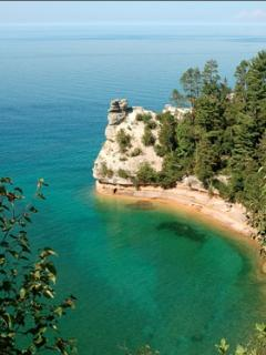 Pictured Rocks National Lakeshore, 30 minutes from the Beach House.