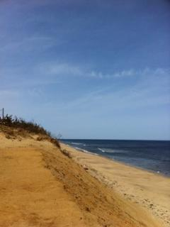 Ocean beaches with huge dunes just minutes from the house