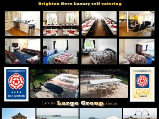 4 Star Gold 9 Bed BIG Holiday Home BRIGHTON UK, Hove