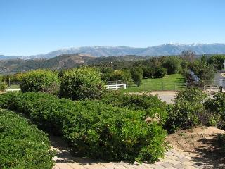 Lots of VIEWS all around. Mt. Palomar in the distance and foreground mountains.