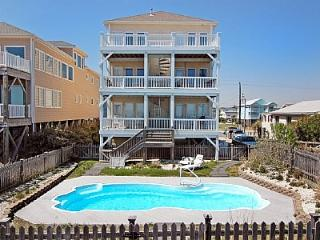 Tranquility Deluxe- 9 Bedroom Oceanfront, Pool & Elevator, Carolina Beach
