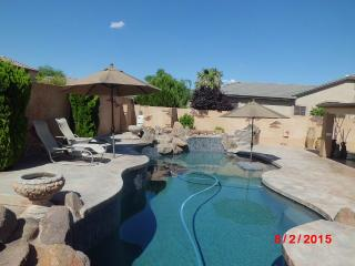 Luxury Home Chandler AZ Resort Life Style Living.