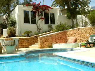 Bungalow in a private Villa in San Rafael, Sant Antoni de Portmany