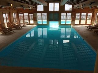 Les Arcs 1950 Ski-in ski-out -- spacious, views, fireplace, pool, gym (sleeps 4)