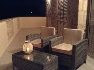Enjoy an evening drink listening to the sea on the balcony overlooking the Mediterranean.
