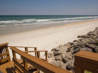 Direct Oceanfront Beach House on Car Free, New Smyrna Beach