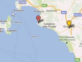 Punta Ala: posizione