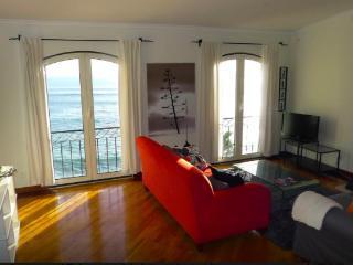 Living room with astonishing sea view.