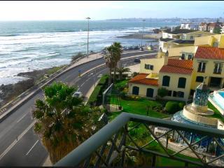 View of the coastal line from varanda