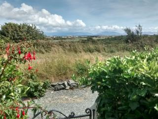 Open view of Snowdonia from front garden.