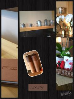 One more collage; some of the little details you will find at UltimateBnB.