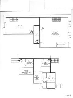 Accurate floor plans of the total apartment which measures 115sq meters.