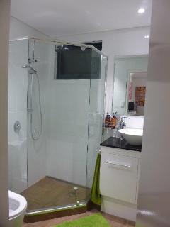 Modern clean shower / toilet