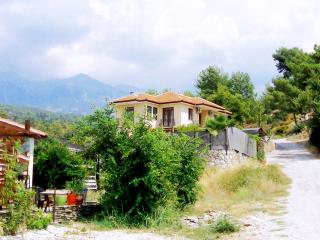 Kırsal inziva-kırsal villa ve özel havuz, Saklikent