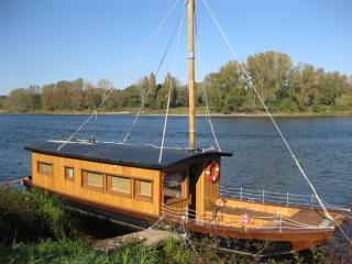 Loire Valley Cabane Familiale sur la Loire - Family Boat cabin