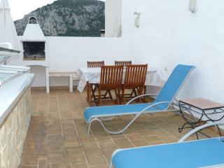 Town house in Pollensa, lovely sunny terraces, air
