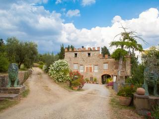 Chianti Castle lodging 7r