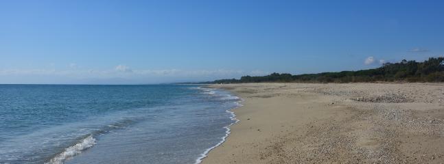Beach and sea, mare Torre del Golfo